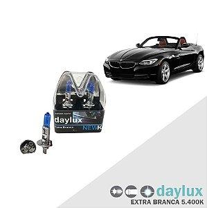 Lâmpada Super Branca BMW Z4 03-16 H1 Farol Alto Xenôn Look