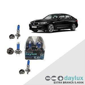 Lâmpadas Super Branca BMW 320i 10-13 Farol Alto Baixo milha