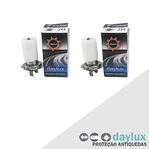 Lâmpada X1 10-16 H7 Farol Alto Tonalidade Original Par