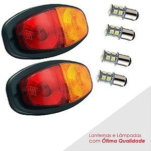 KIT Lanternas LED para Carretinha - Par