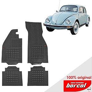 Tapete Borracha Fusca  59-96 Original Borcol 4 peças