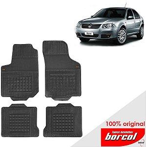 Tapete Borracha Bora 00-12 Original Borcol 4 peças