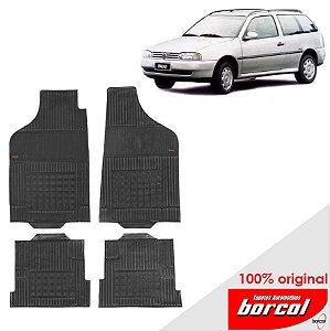 Tapete Borracha Parati Bola 05-12 Original Borcol 4 peças