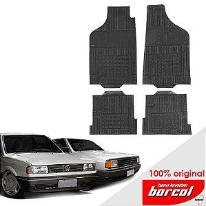 Tapete Borracha Gol quadrado 80-98 Original Borcol 4 peças
