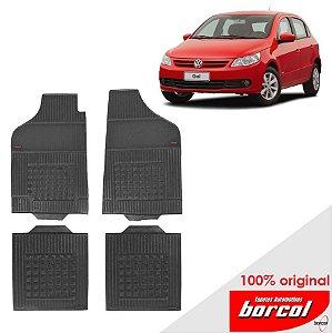 Tapete Borracha Gol G5 08-15 Original Borcol 4 peças