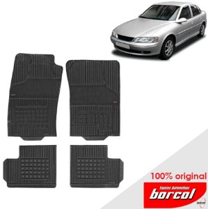 Tapete Borracha Vectra 93-04 Original Borcol 3 peças