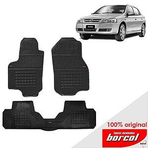 Tapete Borracha Astra Sedan  99-11 Original Borcol 3 peças