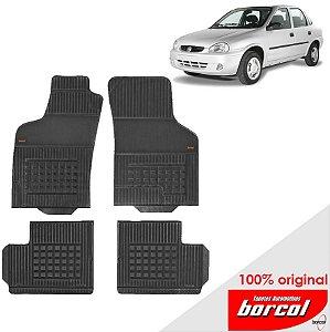 Tapete Borracha Corsa Sedan  94-01 Original Borcol 4 peças