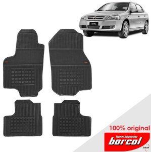 Tapete Borracha Astra Sedan  99-12 Original Borcol 4 peças