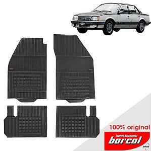 Tapete Borracha Monza 82-96 Original Borcol 4 peças