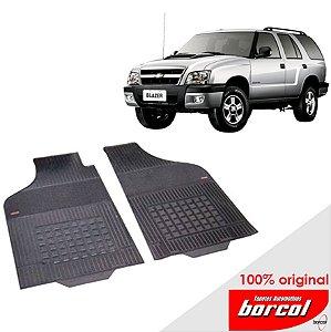 Tapete Borracha Blazer até 2012 Original Borcol 2 peças