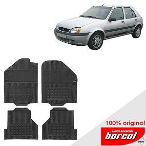 Tapete Borracha Fiesta  95-01 Original Borcol 4 peças