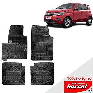 Tapete Borracha Mobi 15 - 17 Original Borcol 4 peças
