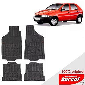 Tapete Borracha Palio Fire 96-00 Original Borcol 4 peças