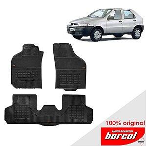 Tapete Borracha Palio fire  01-12 Original Borcol 3 peças