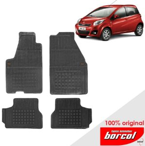 Tapete Borracha J2 10-12 Original Borcol 4 peças