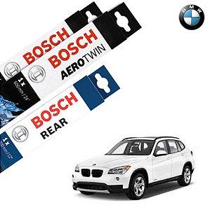 Palheta Limpador Parabrisa Diant+Tras X1 09-17 Bosch