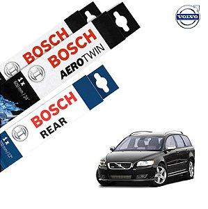 Palheta Limpador Parabrisa Diant+Tras V50 05-11 Bosch