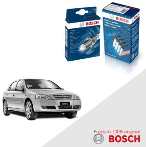 Kit Jogo Cabo+Velas Bosch Astra 2.0 8v Flexpower Flex 09-11