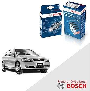 Kit Jogo Cabo+Velas Bosch Astra 2.0 8v SOHC MPFI Gas 98-08