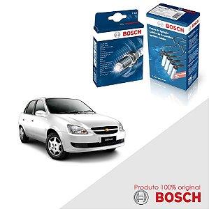 Kit Jogo Cabo+Velas Original Bosch Classic 1.0 8v Flex 08-16
