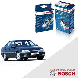 Kit Jogo Cabo+Velas Original Bosch Omega 4.1 6cc Gas 94-98