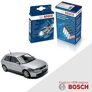 Kit Jogo Cabo+Velas Original Bosch A3 1.8 20v  Gas 99-06
