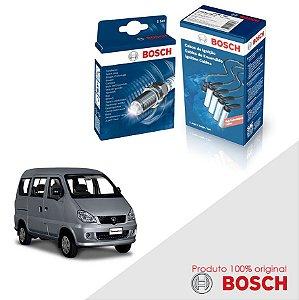 Kit Jogo Cabo+Velas Original Bosch Towner 0.8  Gas 98-03