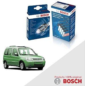 Kit Jogo Cabo+Velas Orig Bosch Berlingo 1.8  8v  Gas 97-03