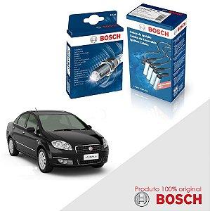 Kit Jogo Cabo+Velas Bosch Linea 1.8 16v E.torQ Flex 10-14