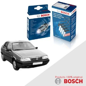 Kit Jogo Cabo+Velas Orig Bosch Tempra SW 2.0 8v  Gas 94-97