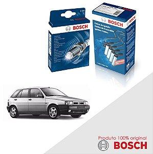 Kit Jogo Cabo+Velas Original Bosch Tipo 1.6 8v M3 Gas 93-97