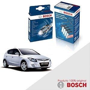 Kit Jogo Cabo+Velas Orig Bosch I30 CW 2.0 16v B2 Gas 08-11