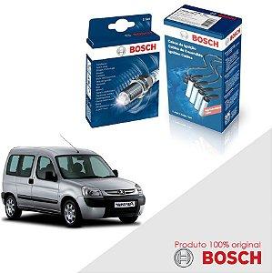 Kit Jogo Cabo+Velas Bosch Partner 1.8 8v XU7JB Gas 97-02