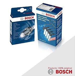 Kit Jogo Cabo+Velas Orig Bosch Megane 2.0 8v F3R Gas 98-01
