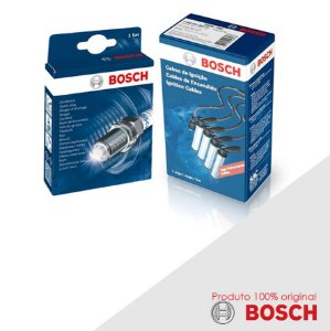 Kit Jogo Cabo+Velas Orig Bosch Apolo 1.8 8v AP1800 Gas 90-91
