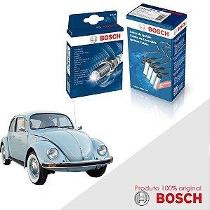 Kit Jogo Cabo+Velas Original Bosch Fusca 1.5 8v  Gas 70-75