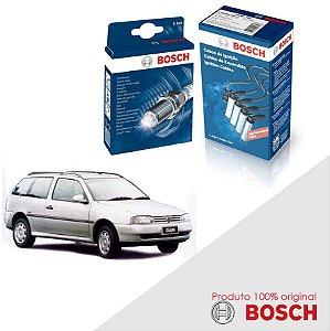 Kit Jogo Cabo+Velas Orig Bosch Parati G2 1.6 8v AP Alc 95-96