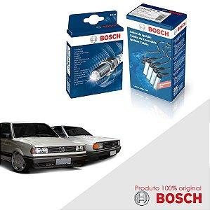 Kit Jogo Cabo+Velas Orig Bosch Saveiro 1.6 8v AP Alc 93-96