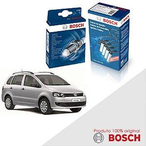 Kit Jogo Cabo+Velas Bosch SpaceFox G2 1.6 8v TCO Flex 10-14