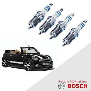 Jogo Vela Cooper Cabrio 1.6 16v 06-10 Orig Bosch Iridium