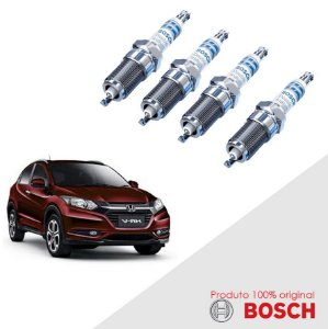 Jogo Vela HR-V 1.8 Flex (R18A1) 15-17 Orig Bosch Iridium