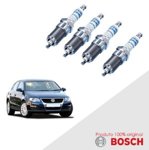 Jogo Vela Passat 4Motion 3.2 24v D6F 05-10 Bosch Iridium