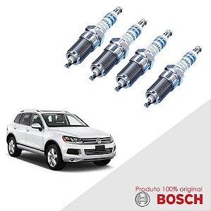 Jogo Vela Touareg 3.6 24v  06-14 Orig Bosch Iridium