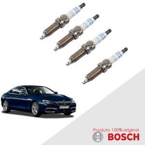 Jogo Vela 640 i GC 3.0 24v B30A 12-14 Bosch Platina Dupla