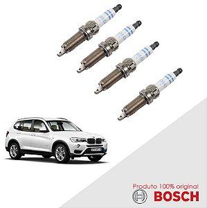 6 Velas X3 xDrive 35 i  3.0 24v B30A 10-14 Bosch Platina Dup