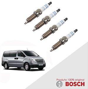 Jogo Vela Citroen H1 2.4 16v 08-10 Orig Bosch Platina