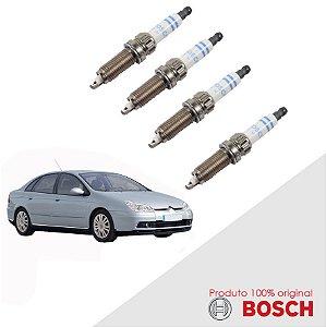 Jogo Vela Citroen C5 3.0 24v  01-07 Orig Bosch Platina