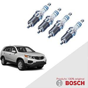 Jogo Vela Sorento 2.4 16v G4KE 09-17 Orig Bosch Iridium