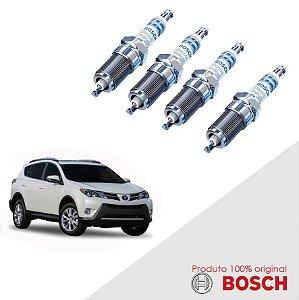 Jogo Vela Rav4 2.0 16v 3ZRFE 13-16 Orig Bosch Iridium